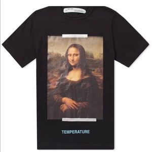 Off-White Shirts - Authentic Preowned Off-White Mona Lisa Tee size M